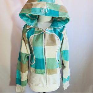 Lululemon Athletica Scuba Hoodie Checkered…